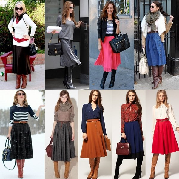 Knee-High-Boots-with-Midi-Skirt-gorgeautiful