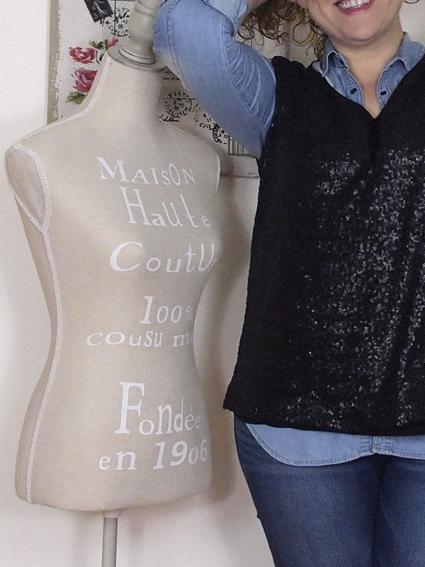 VerdementaBlog casual outfit curvy top paillettes Fiorella Rubino- curvyblogger -5