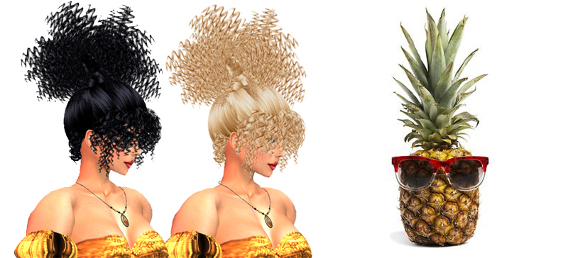 capelli-ananas-pineapple-hair