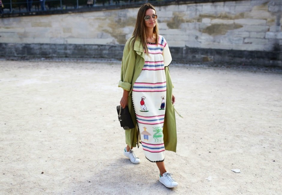 PFW_SS15_street style_adidas stan smith_fashion_trends_front row blog