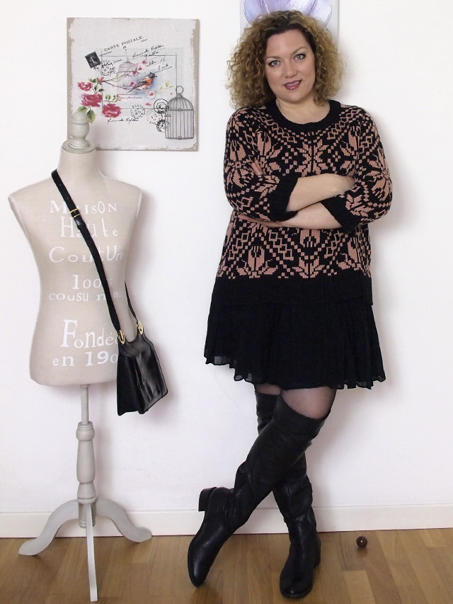 Verdementa_Blog-outfit-curvy-gonnellina-maglione-jacquard-5