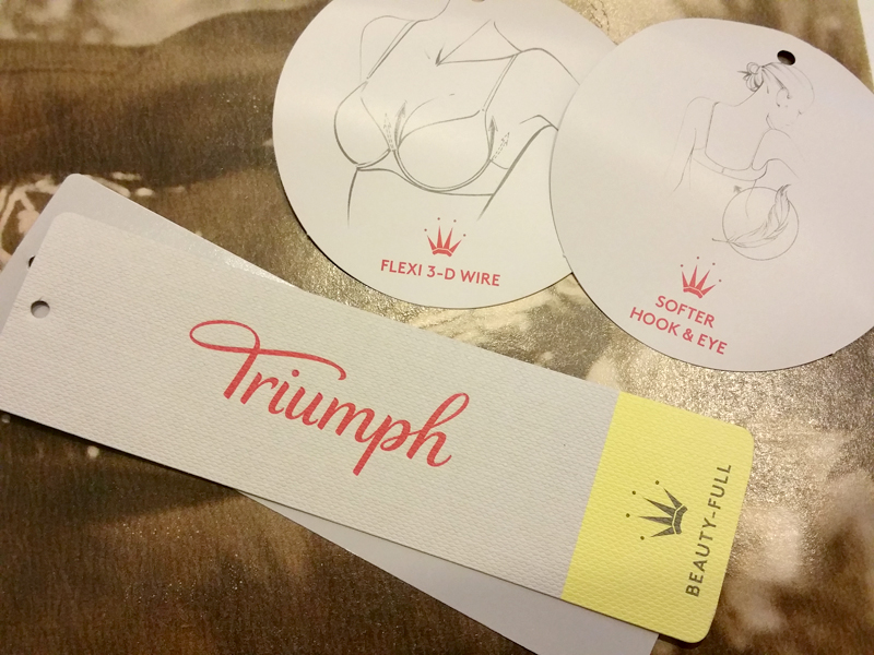 label reggiseno Triumph Beauty-Full Star