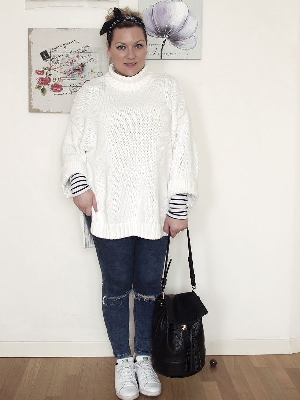 VerdementaBlog_outfit-curvy-maglione oversize bianco jeans skinny-1