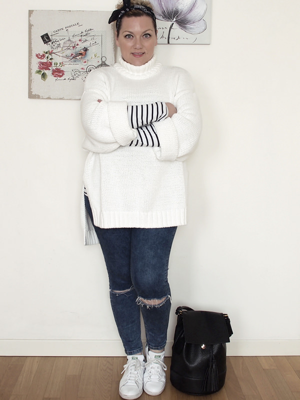 VerdementaBlog_outfit-curvy-maglione oversize bianco jeans skinny-3