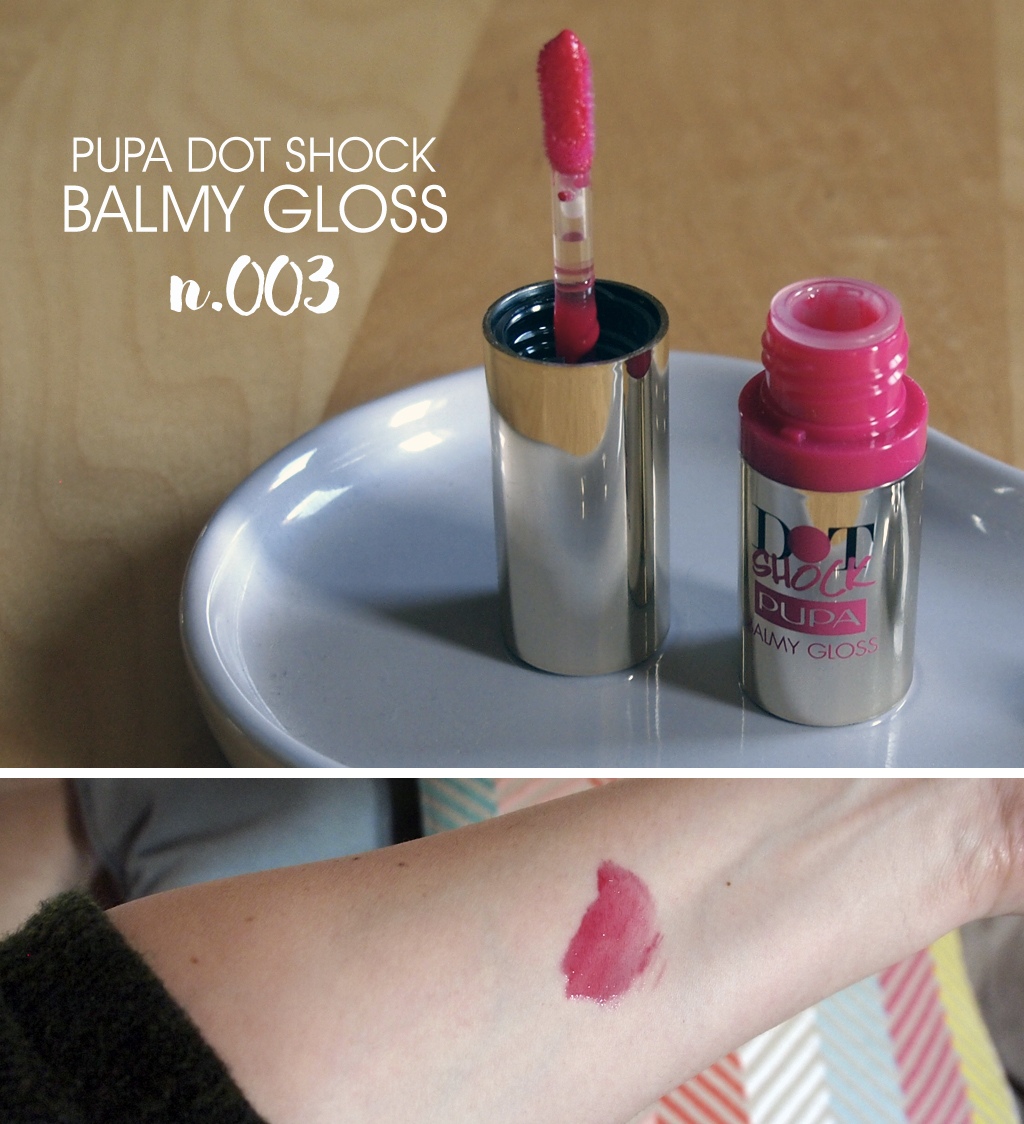 PUPA Dot Shock Balmy Gloss 003-swatch