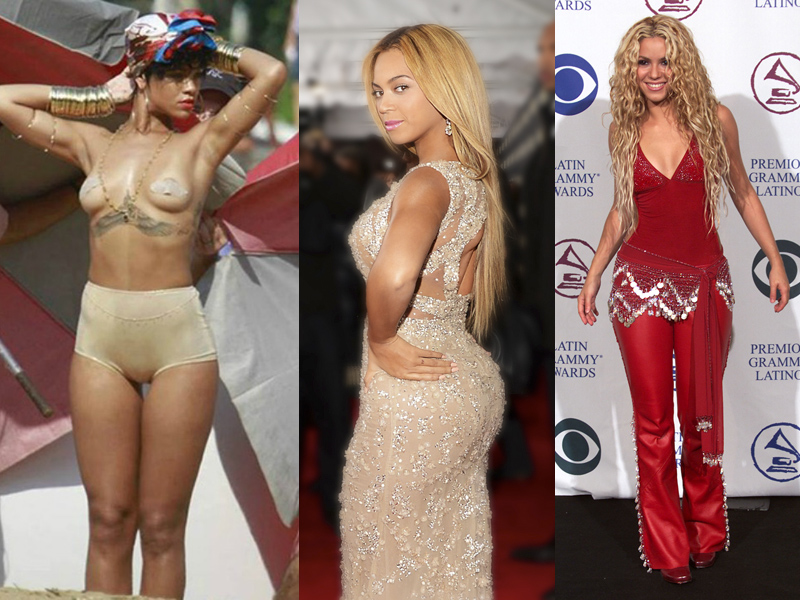 Pear-shape-Rihanna-Beyonce-Shakira