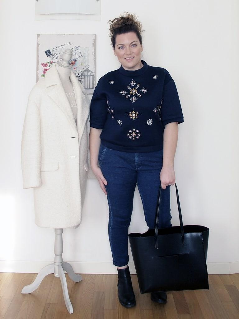 outfit-curvy-maglia-scuba-ricamata-H&M-1