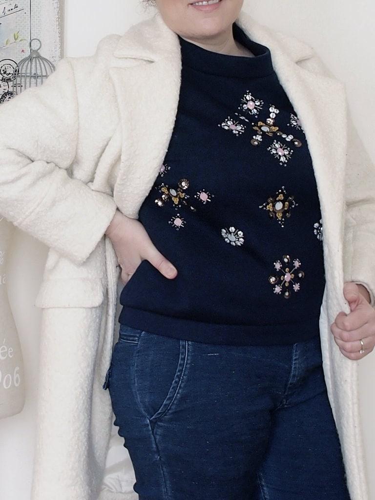 outfit-curvy-maglia-scuba-ricamata-H&M-cappotto-bianco-Pimkie-4