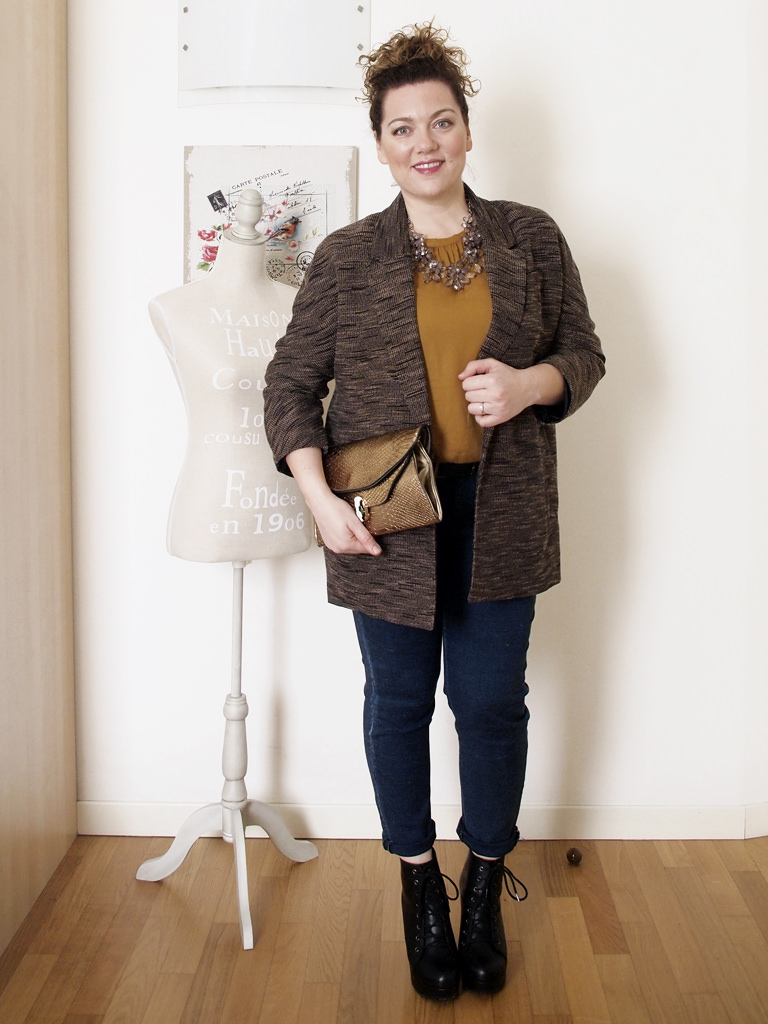 VerdementaBlog outfit curvy giacca H&M-1