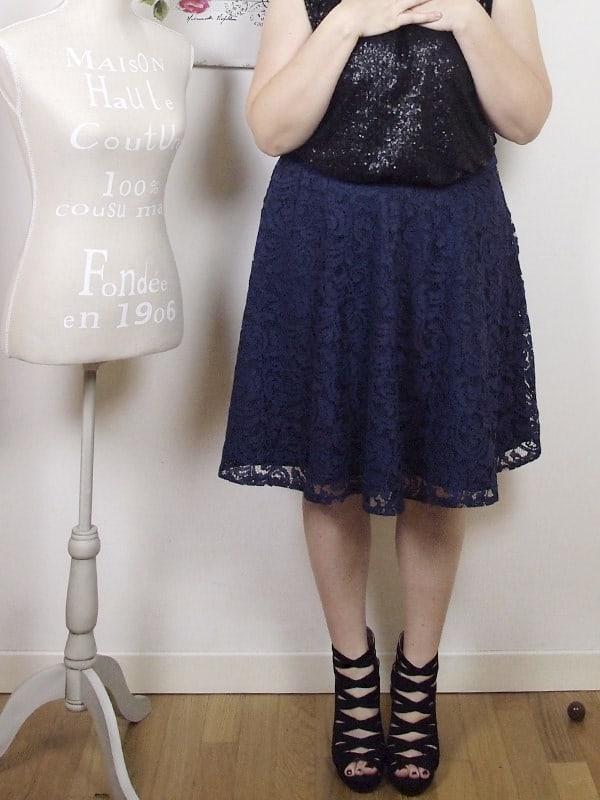 VerdementaBlog outfit curvy top paillettes Fiorella Rubino-gonna midi-tacchi alti-curvyblogger -13