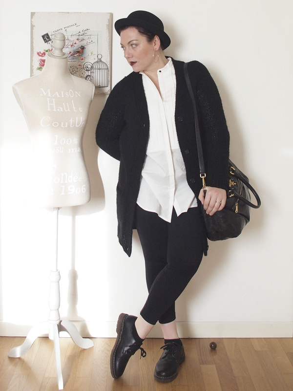 Outfit | bianco e nero