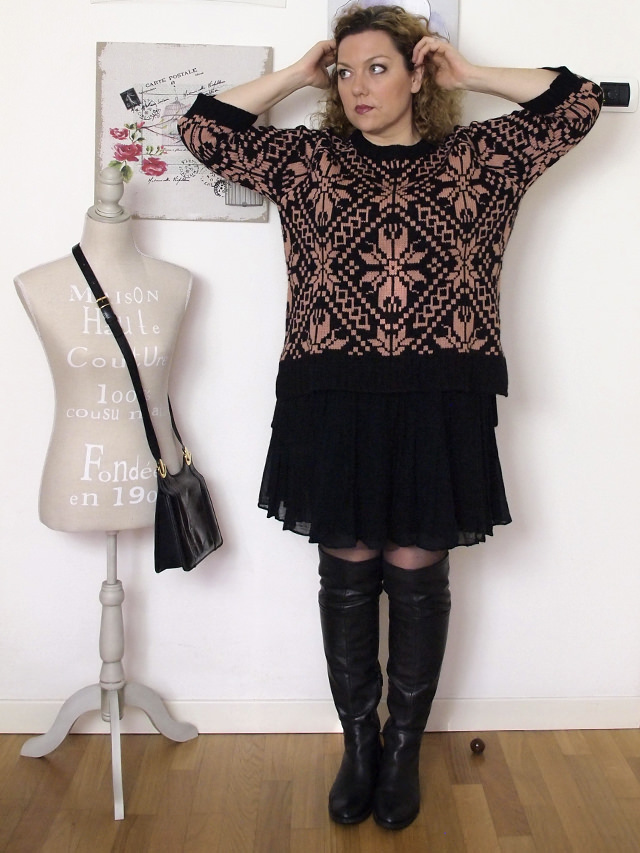 Verdementa_Blog-outfit-curvy-gonnellina-maglione-jacquard-11