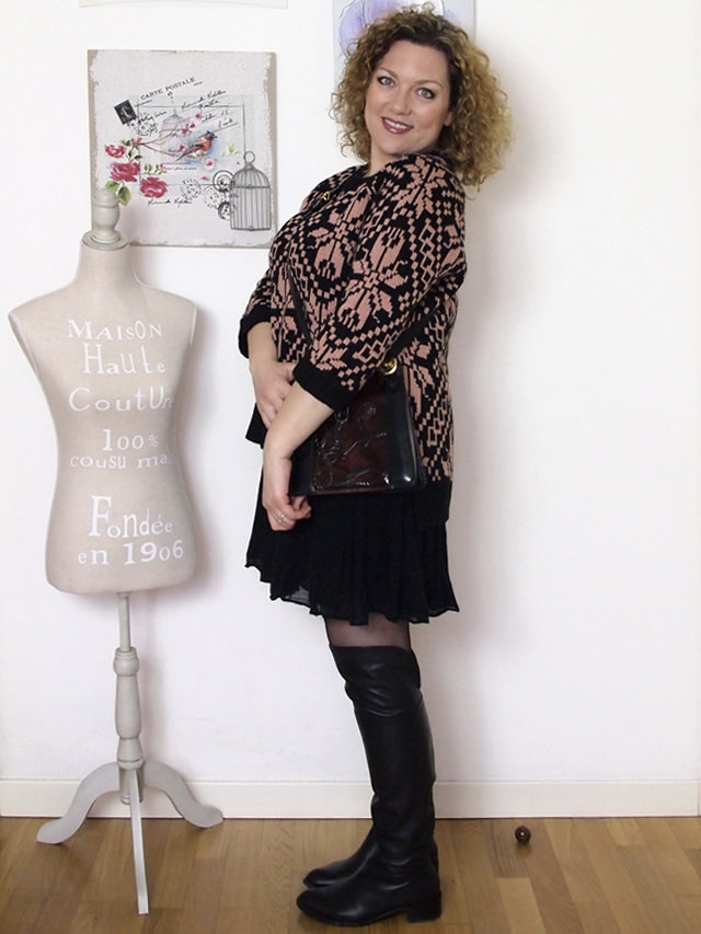 Verdementa_Blog-outfit-curvy-gonnellina-maglione-jacquard-3