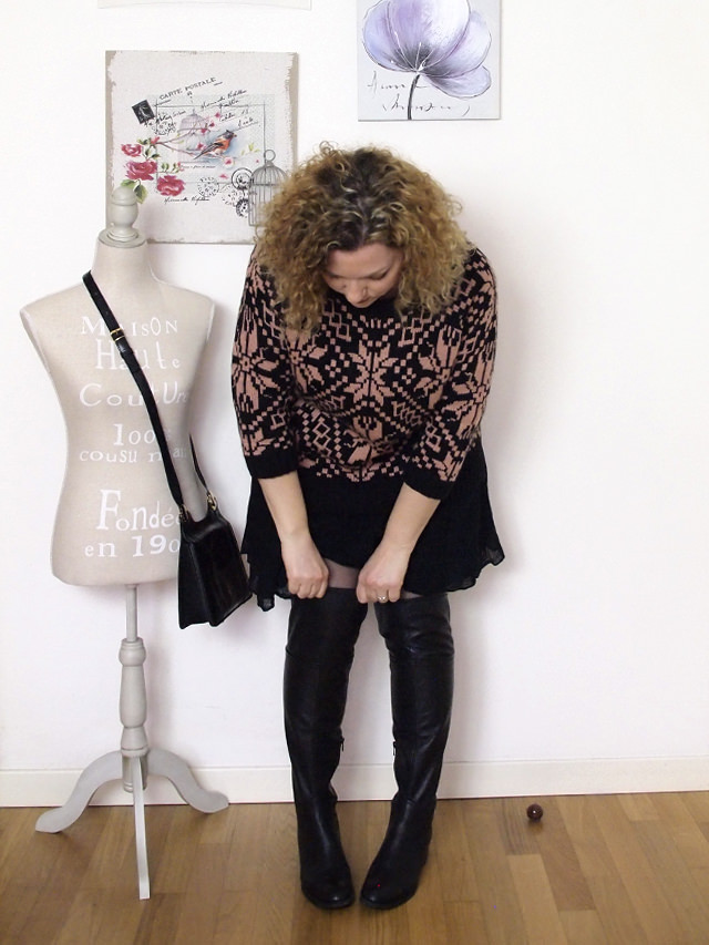 Verdementa_Blog-outfit-curvy-gonnellina-maglione-jacquard-6