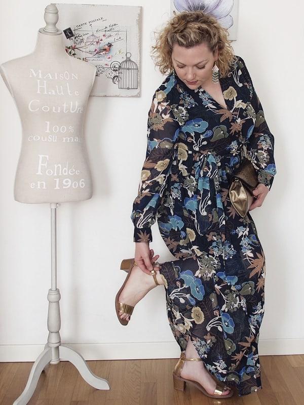 VerdementaBlog_outfit_curvy_taglia48_abito lungo H&M 05