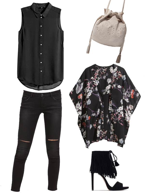 outfit-donna-mela-black-combo