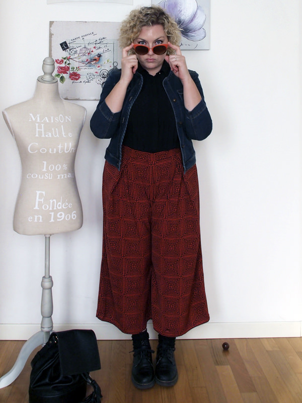 o Pantalone Gonna Culotte Curvy Outfit qt1wzPTE