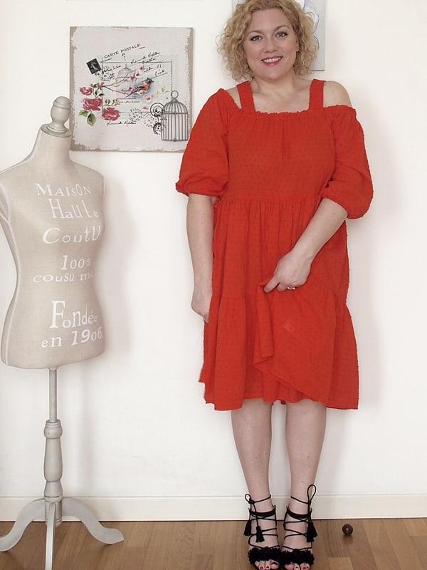 abito rosso H&H 01