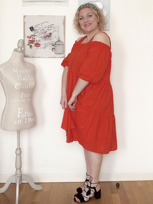 abito rosso H&H 03