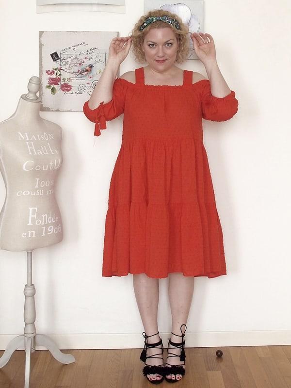 abito rosso H&H 04