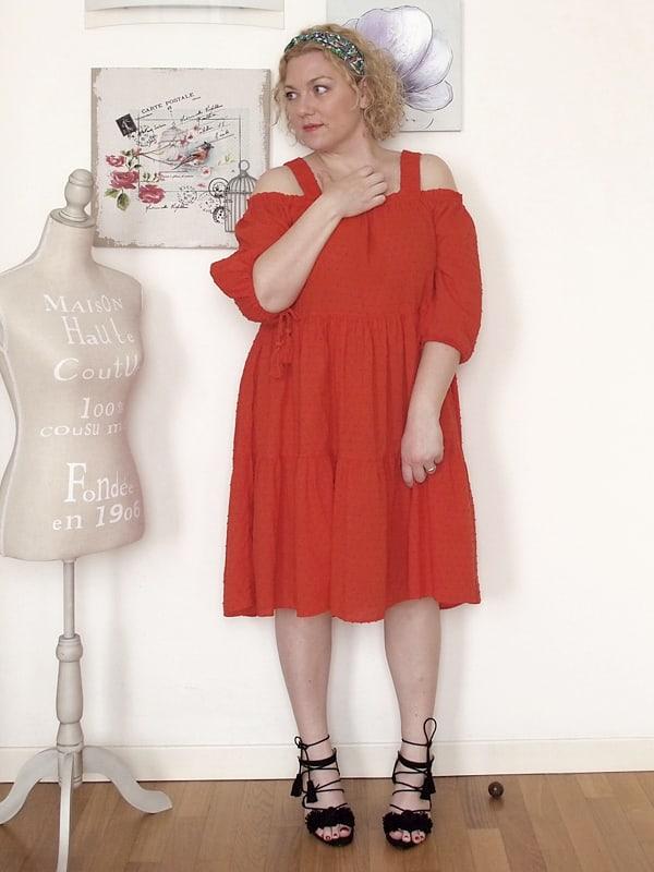 abito rosso H&H 06