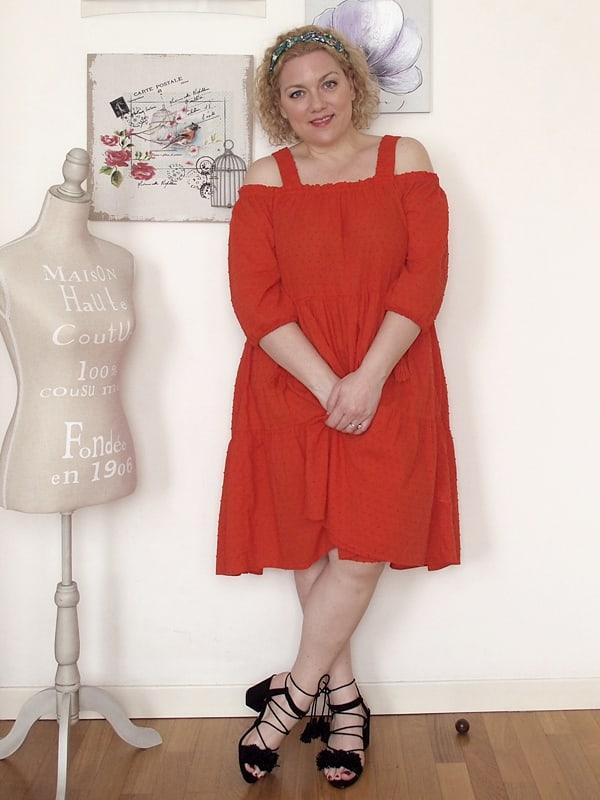 abito rosso H&H 08