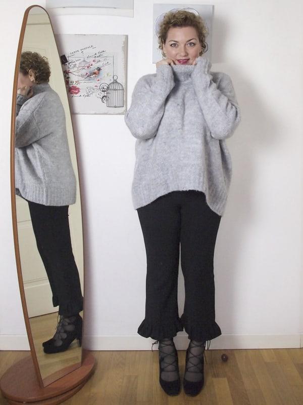 Outfit Zara Maglione Collo Alto Donna dxBoeQWrCE