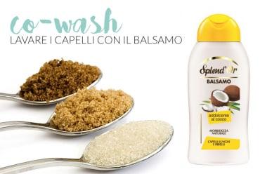 co-wash lavare i capelli con il balsamo