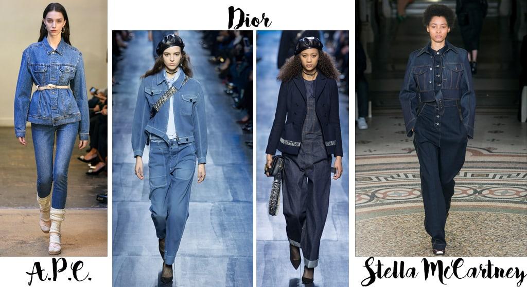 Tendenze moda autunno inverno 2017-18, denim e jeans