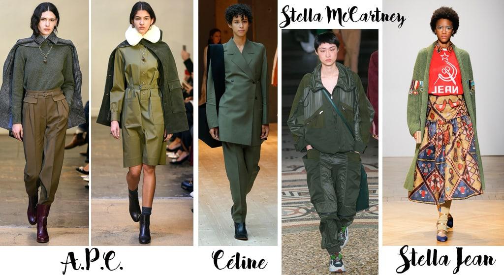 Tendenze moda autunno inverno 2017-18, militare
