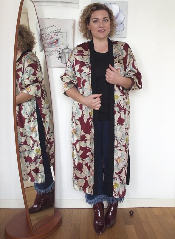 kimono Zara jeans Stradivarius t,shirt Asos stivaletti Zara (vecchia  collezione)