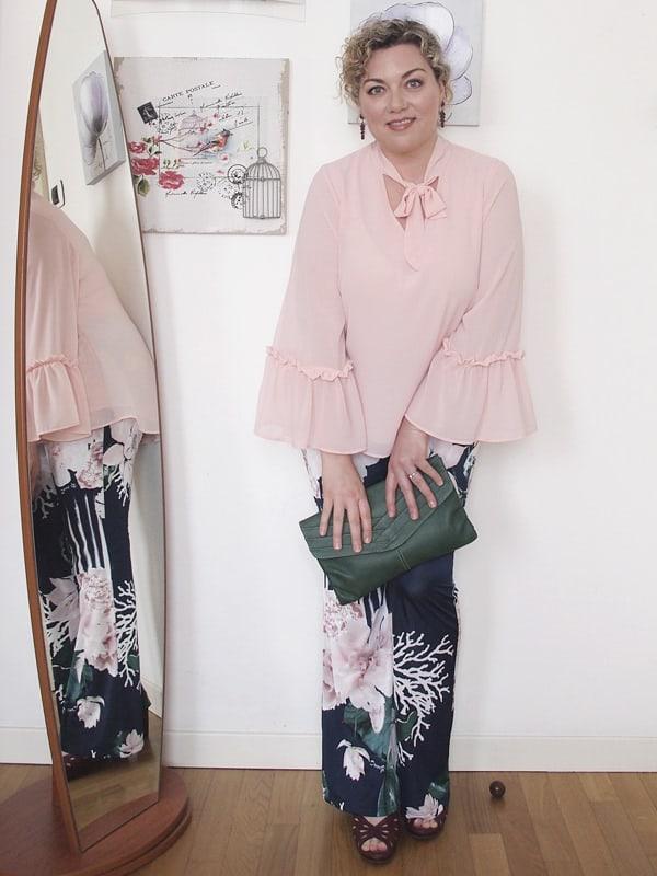 jpg Verdementa Blusa Donnagi Curvy Blog Rosa Pantaloni Stampa 06 Outfit Fiori Cerimonia LpzMGqSVU